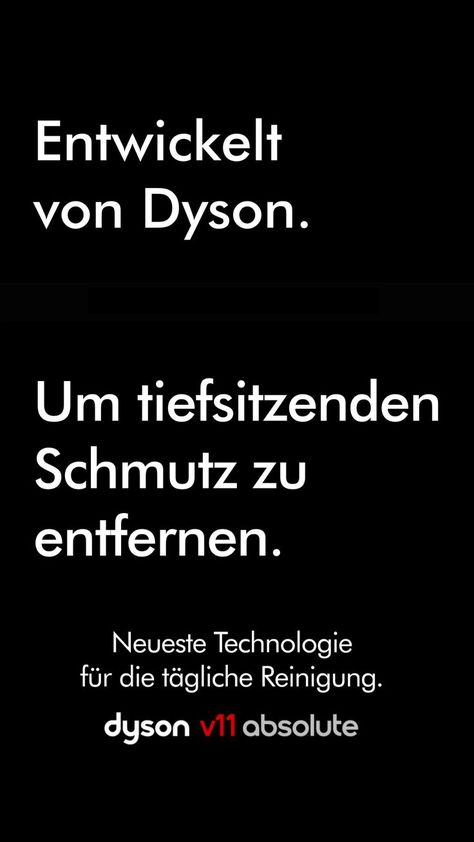 The new Dyson V11 ™- Der neue Dyson V11™  Recognizes. Optimized. Removes deep-seated dirt. Discover a new way of sucking with intelligent technology. The wireless Dyson V11 detects the soil type and adjusts the suction power and running time for optimal daily cleaning.   -#electronicbanner #electronicengineering #electronicicon #electronicproduct #electronicrulesforkids