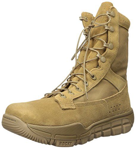 Rocky Men S Rkc042 Military And Tactical Boot Coyote Brown 7 5 M Us Tactical Boots Military Tactical Boots Boots