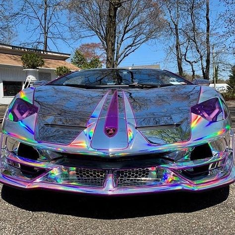 Shitty Car Mods — A Lamborghini Aventador SVJ… it hurts my eyes – Cars is Art Exotic Sports Cars, Cool Sports Cars, Cool Cars, Weird Cars, Lamborghini Aventador, Ferrari 458, Koenigsegg, Supercars, Dream Cars