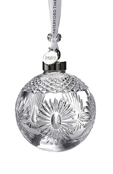 Waterford Crystal Christmas 2020 Waterford 2021 Times Square Ball Ornament in 2020 | Times square