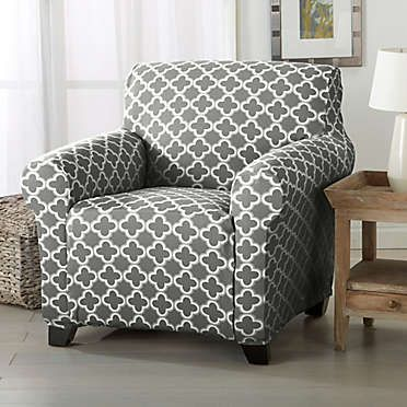 Great Bay Home Brenna Strapless Furniture Slipcovers Bed Bath Beyond Slipcovers For Chairs Living Room Chair Covers Chair Covers Slipcover