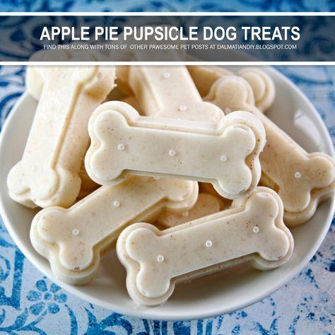 Recipe Apple Pie Pupsicle Frozen Yogurt Dog Treats Dog Biscuit