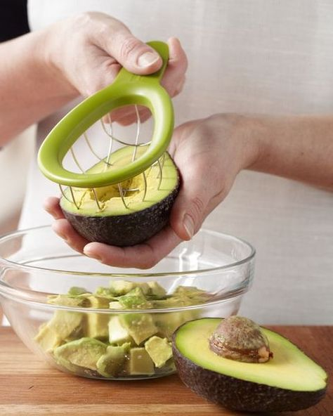 Avocado cuber...awesome...i need this is my life.