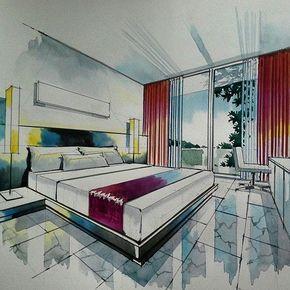 153 Best Interior Rendering Images In 2020 Interior Rendering Interior Interior Sketch