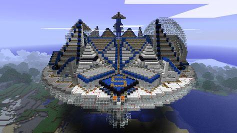 Minecraft flying saucer by ludolik deviantar on deviantart more