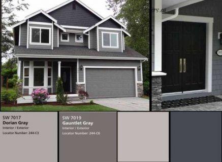 Trendy Exterior House Colors Paint Popular Ideas House Exterior Grey Exterior House Colors House Paint Exterior Gray House Exterior
