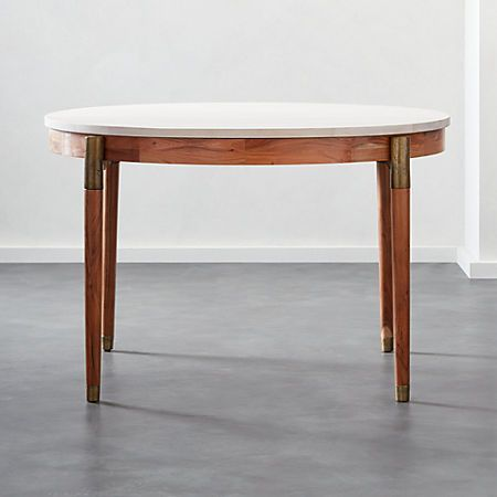 Midcenturyrnddiningtblshs19 1x1 Round Dining Table Dining Room