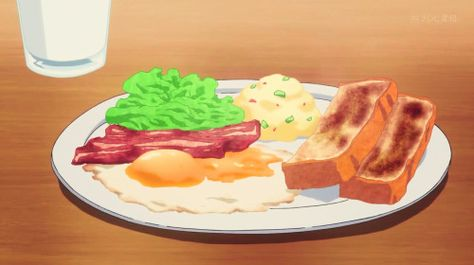 Haru's breakfast, Digimon Universe: Appli Monsters, Episode 2.