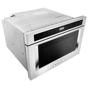 Kitchenaid 1 2 Cu Ft Microwave Drawer Stainless Steel Common