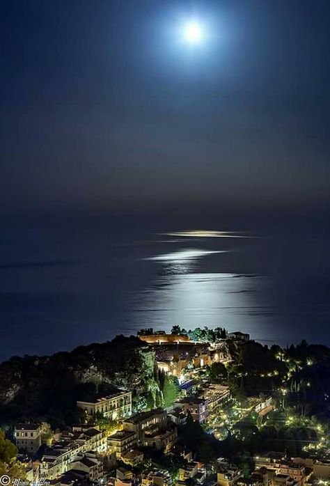Chiaro di luna Taormina