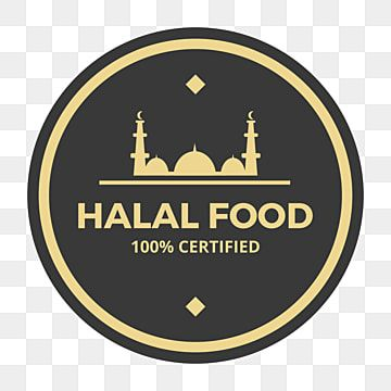 Circle Halal Food Logo Label Icon Food Icons Logo Icons Circle Icons Png And Vector With Transparent Background For Free Download Di 2020 Ikon Latar Belakang Makanan