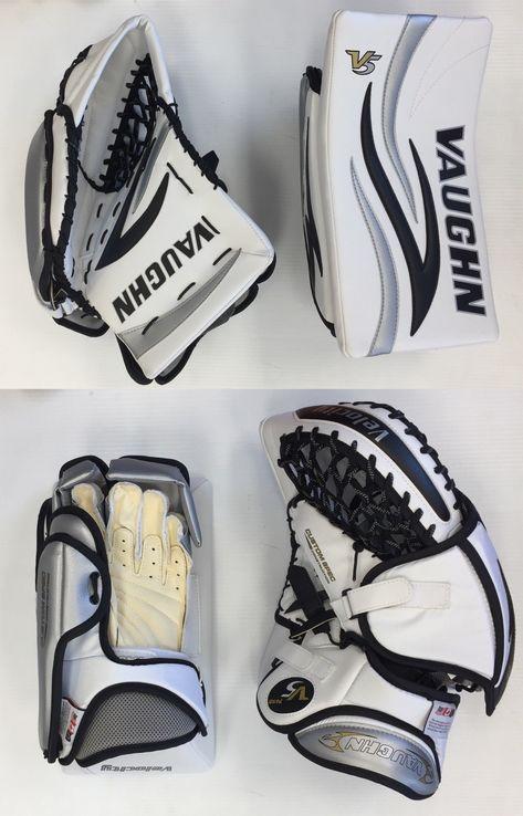 111599c0f84 Gloves and Blockers 79763  Vaughn 7460 Sr Ice Hockey Goalie Blocker Glove  Set Full Right Velocity V5 Senior -  BUY IT NOW ONLY   299.99 on  eBay   gloves ...