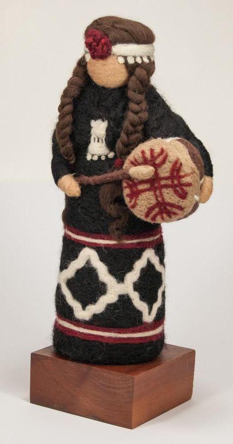 Mapuche aus Filz von MupiDisenos auf Etsy