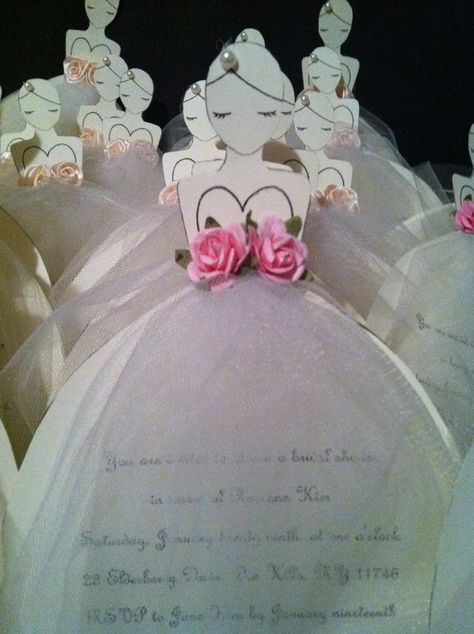 bridal shower invitations!