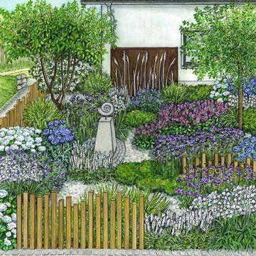 Vorgarten Mit Naturlichem Prarie Charme Kreative Garten Ideen Gartengestaltung Gartengestaltung Ideen