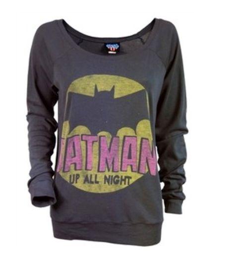 MMM Merchandising Batman Mens The Dark Knight #1 Sweater