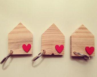 Portachiavi in legno.