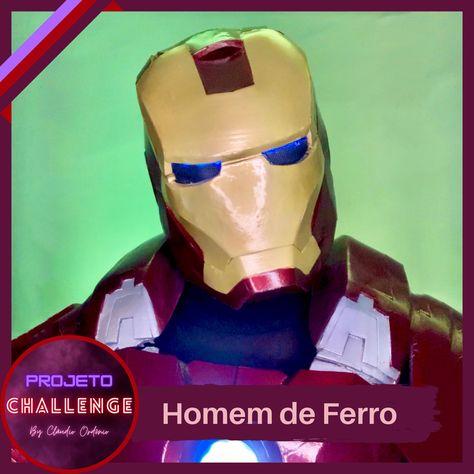 """""""PROJETO CHALLENGE"""" 4. Homem De Ferro Mais um #Challenge para a série #Vingadores: Tony Stark, o Homem de Ferro! Figurino: @espetacularte #HomemDeFerroChallenge #HomemDeFerro #Avengers #ClaudioOrdonio #Domingo #BoaNoite #TonyStark #PersonagensVivos #Espetacularte #BomDia #Ator"""