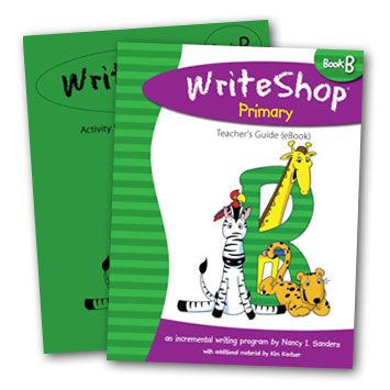 """""""I love the friendly approach that makes writing fun."""" {WriteShop Primary Book B review gr. 1-3}"""