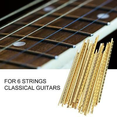 2 25 19 X Brass Frets Wire Fretwires Repair Parts For Classical Guitar 5 3 6 6 Cm Guitar Accessories Acoustic Guitar Accessories Classical Guitar