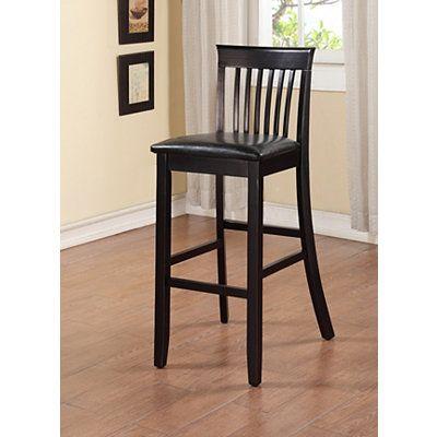 Black Jayden Craftsman Bar Stool Bar Stools Stool Bar Furniture