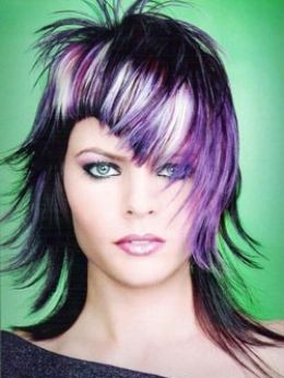Chooseing hair colors that evoke emotions.  http://www.hairstyle-blog.com/emo-hair-styles-created-like-an-art-form.html