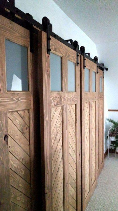42 Inspiring Sliding Barn Door Ideas Garage Door Design Bypass