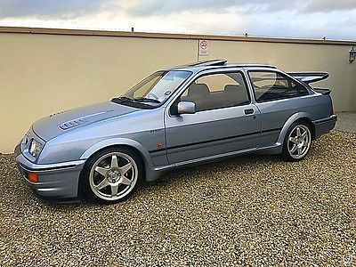 Ebay Ford Sierra Rs Cosworth 3 Door Big Spec History Pristine E Reg Stunner Classiccars Cars Ford Sierra Cool Cars Bmw Car
