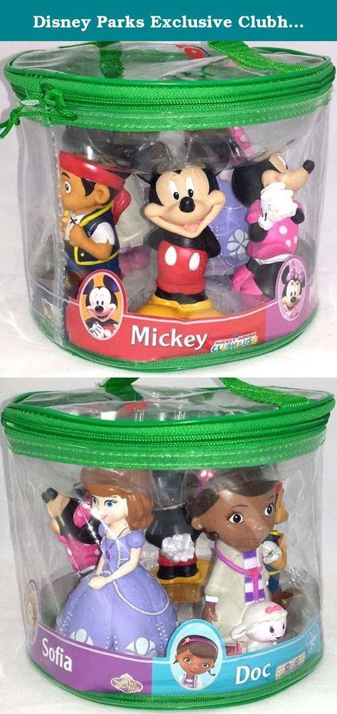 Disney Parks Princess Squeeze Toys Set Including Ariel and Snow White Aurora Cinderella Belle