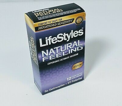 Lifestyles Natural Feeling Condoms Pack Of 12 Ebay In 2020 Vitamin C And Zinc Condoms Feelings