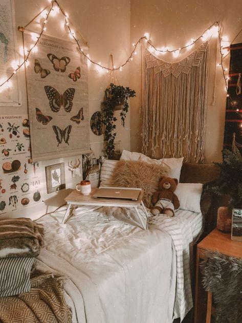 Find best Home Decoration Ideas for Your House - DIY - Room - Makeover Boho Dorm Room, Cool Dorm Rooms, Bohemian Living Rooms, Living Room Grey, Room Ideas Bedroom, Bedroom Decor, Room Design Bedroom, Decor Room, Bedroom Inspo