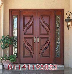 ابواب خشب Door Design Wood Wooden Main Door Design Door Glass Design