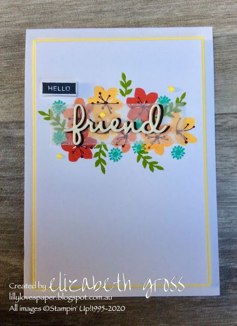 Pin On Clean And Simple Card Ideas Stampin Up Style