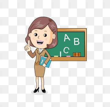 Teachers Day Teacher Textbook Female Teacher Teacher Clipart Class Blackboard Png And Vector With Transparent Background For Free Download Teacher Cartoon Teacher Clipart Female Teacher