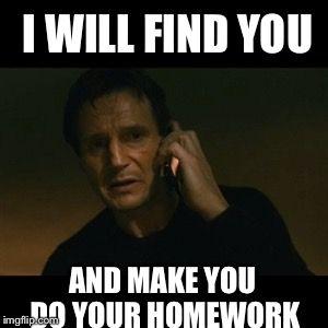 Do Your Homework Homework Meme On Me Me