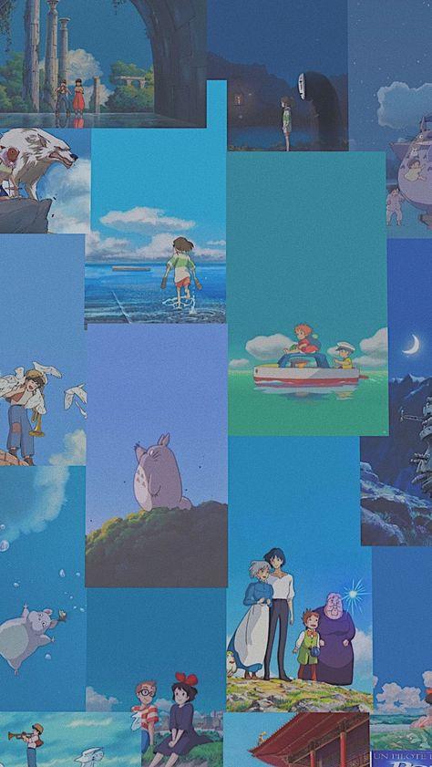 Studio Ghibli aesthetic wallpaper