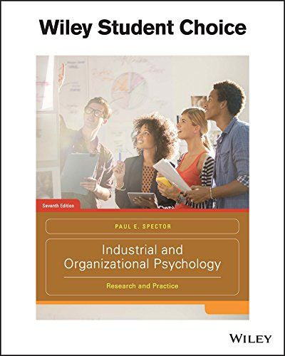 Download Pdf Industrial And Organizational Psychology Research And Practice Free Epub Psychology Research Industrial And Organizational Psychology Psychology