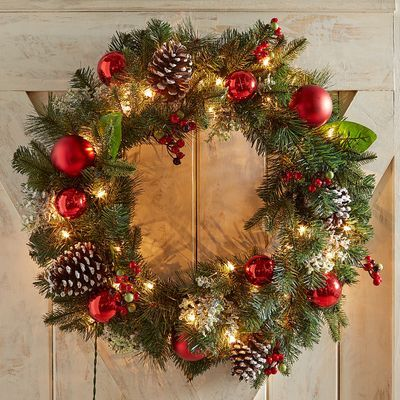 Your Home Shines This Holiday Season With The Timeless And Traditional Beauty Of Our Realisti Christmas Wreaths Diy Christmas Wreaths Outdoor Christmas Wreaths