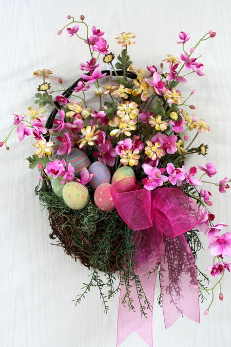 Easter Country Basket by FloralsFromHome For my Inspiration!