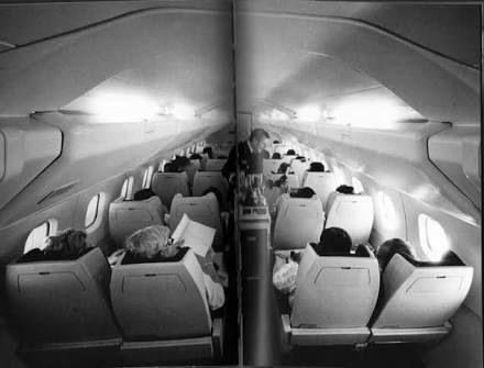 Original Air France Concorde Interior By Raymond Loewy | Concorde Seats |  Pinterest | Air France And Concorde