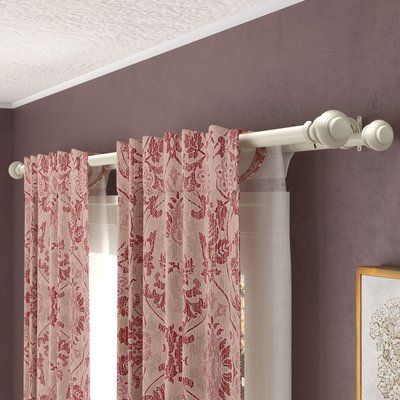 Darby Home Co Margery Double Curtain Rod And Hardware Set Size 36