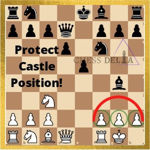 Why It Is Important To Protect Your Castle In 2020 Chess Chess Strategies How To Play Chess
