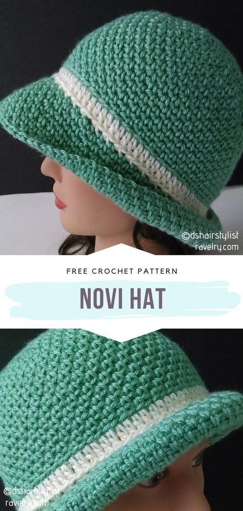Beautiful Crochet Summer Hats Free Patterns
