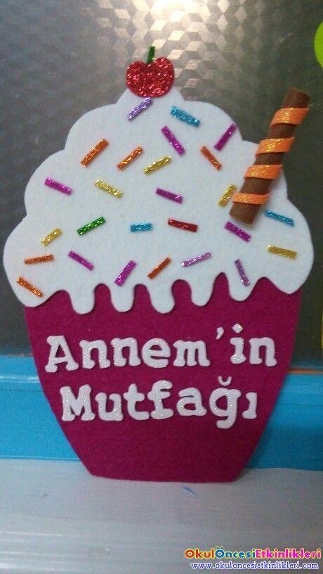 Annemin Mutfagindan Pasta Okul Oncesi Etkinlikleri