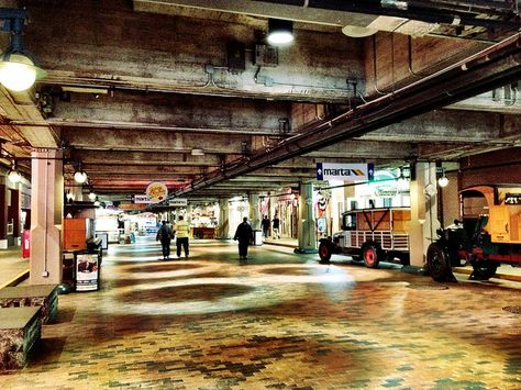 Underground Atlanta, but not the awesome, gaslight, steampunk part
