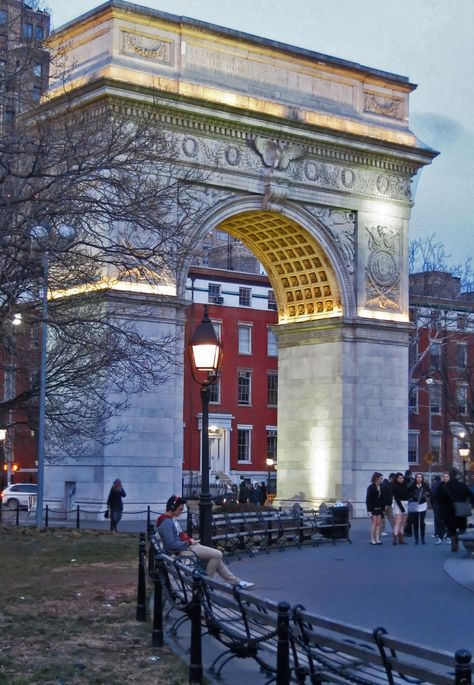 New York City, Washington Square, Greenwich Village