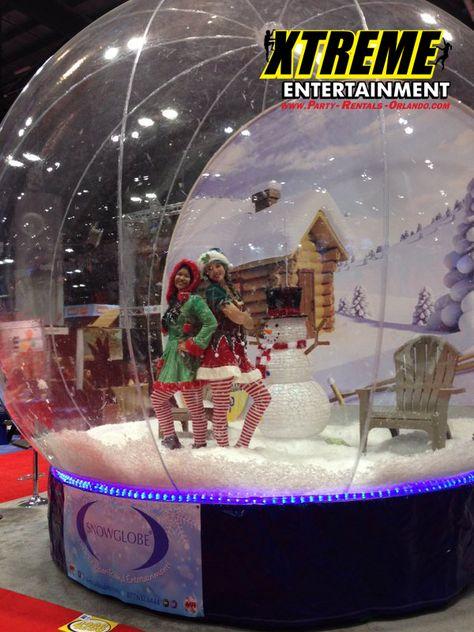 Giant Snow Globe Giant Games Orlando Florida Party Rentals