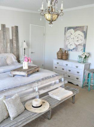 21 modi per arredare la camera da letto in stile shabby ...