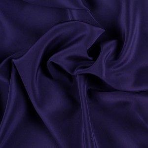 Plum Triacetate Shiny Material Plum Fabric Dark Purple Triacetate Fabric Dark Purple Flowy Material Dark Purple Material