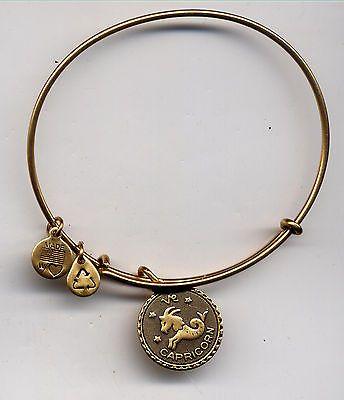 ALEX & ANI endless russian gold capricorn bracelet - http://designerjewelrygalleria.com/alex-ani/alex-ani-endless-russian-gold-capricorn-bracelet/